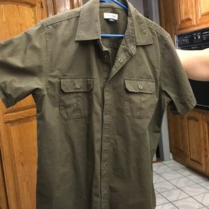 Anchorblue Army Green Button Up
